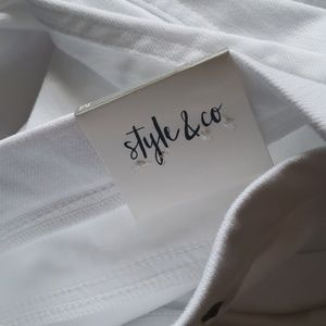 Style & Co Pants - NWT Style&Co capri twill leggings